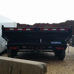 "2017 Load Trail 83"" x 14' Tandem Axle King Dump Trailer"