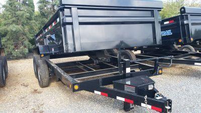 2017 Load Trail  83 x 14 Tandem Axle Dump w/ Scissor Lift Trailer