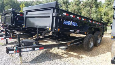 2017 Load Trail  83 x 14 Low Pro Tandem Axle Dump Trailer