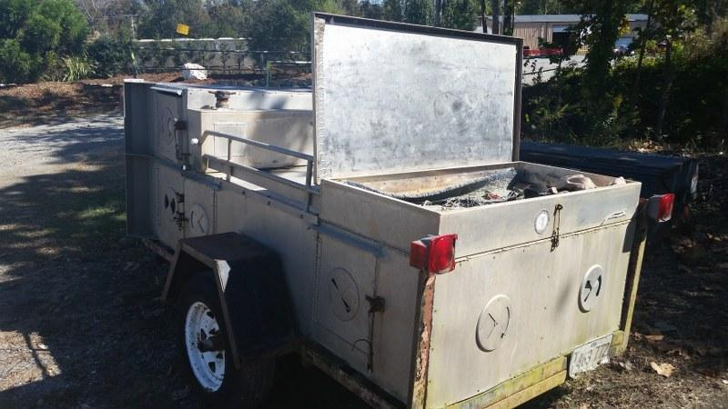 1997 5'x8' Homemade Dog Box 5x8' Other Trailer