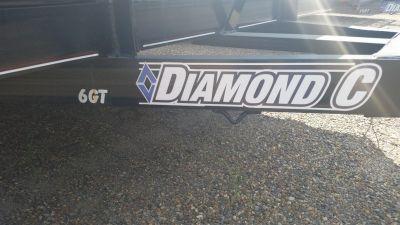 "2016 Diamond C 83"" x 16' General Duty Utility Trailer"