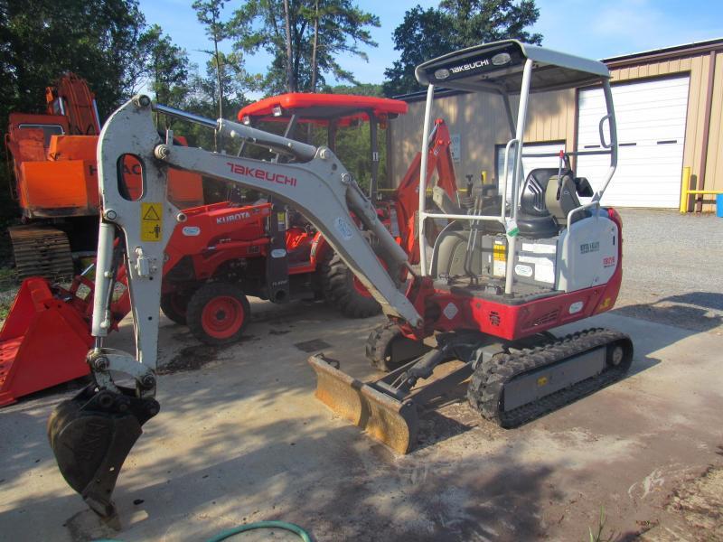 Takeuchi TB216 Mini Excavator | Trailers For Sale Near Me