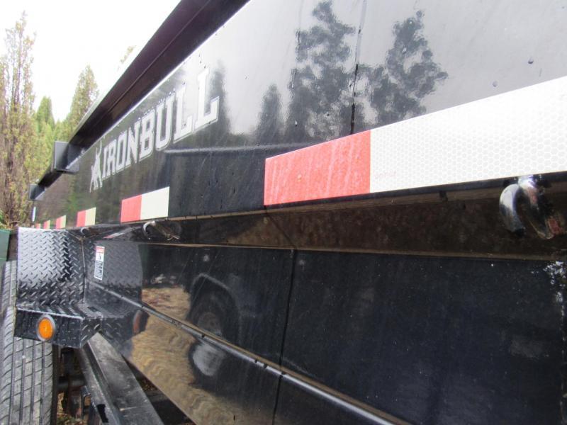 "2017 Iron Bull Low-Pro 83"" x14' Dump Trailer"