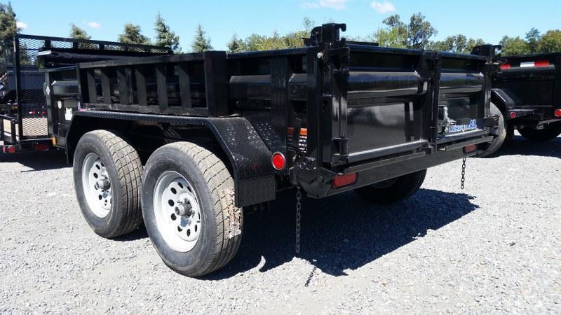 """2017 Load Trail 60"""" x 10' Tandem Axle Dump Trailer"""