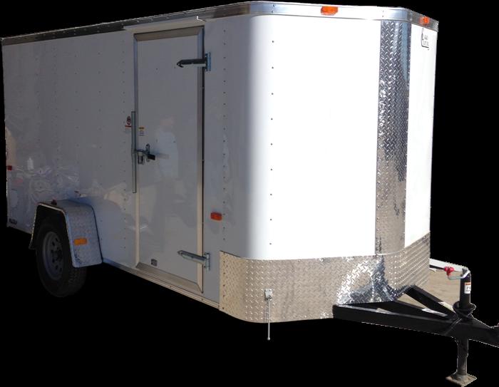2017 6' X 12' Cargo Craft Enclosed Cargo Trailer