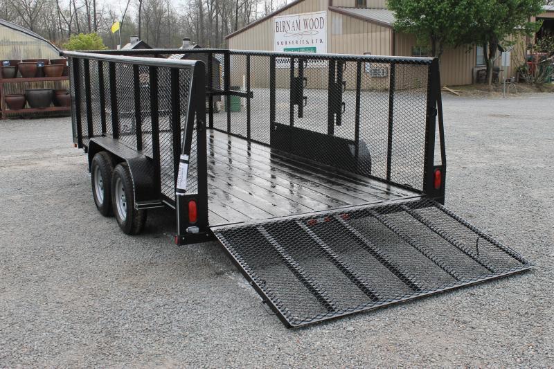 2017 tiger 83x16 landscape utility trailer river valley trailers and equipment sales little. Black Bedroom Furniture Sets. Home Design Ideas