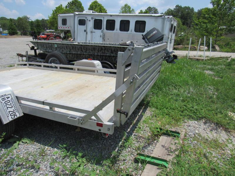 2012 Aluma 12' x 6.5' Utility Trailer - FOR RENT