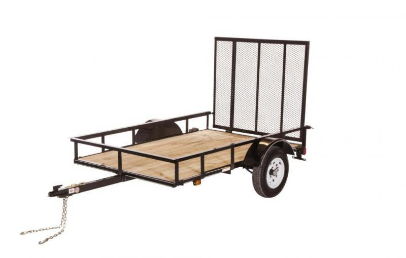 2018 CARRY-ON 5X8SPW UTILITY TRAILER