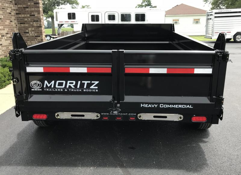 "2019 Moritz International 6'10"" x 12'  Dump Trailer"