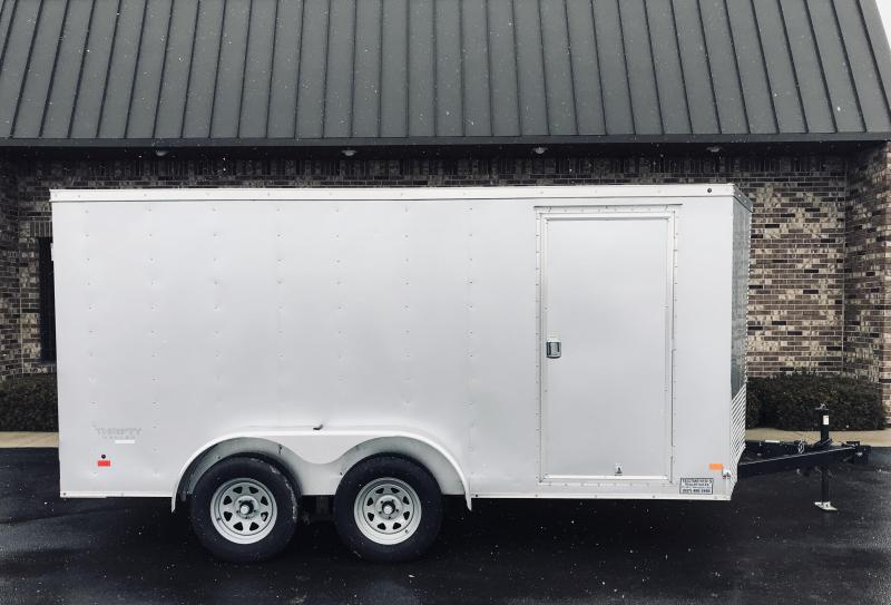 2016 Haulmark 7' X 14'  Enclosed Cargo Trailer