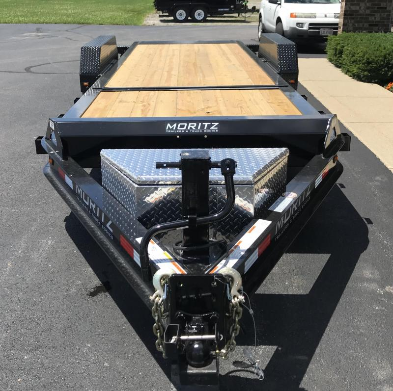 2019 Moritz International 16' + 6' 8K  GT Flatbed Trailer