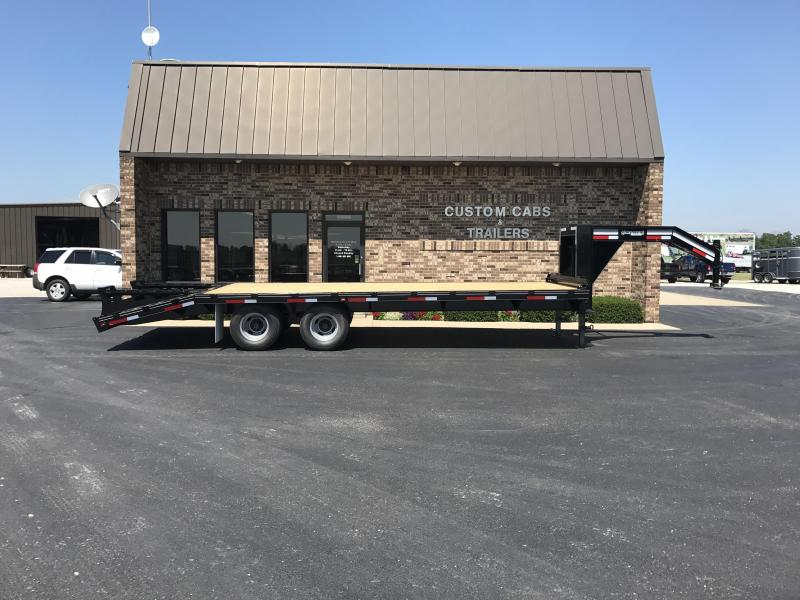 2018 Golden 20' + 5'  10K Flatbed Trailer