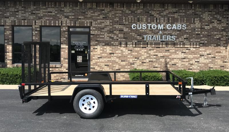 2019 Sure-Trac 7' X 12' Tube Top Flatbed  3K Idler