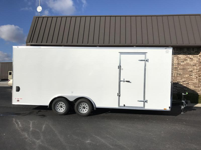 2020 Cargo Mate 8' x 20'  Enclosed Cargo Trailer