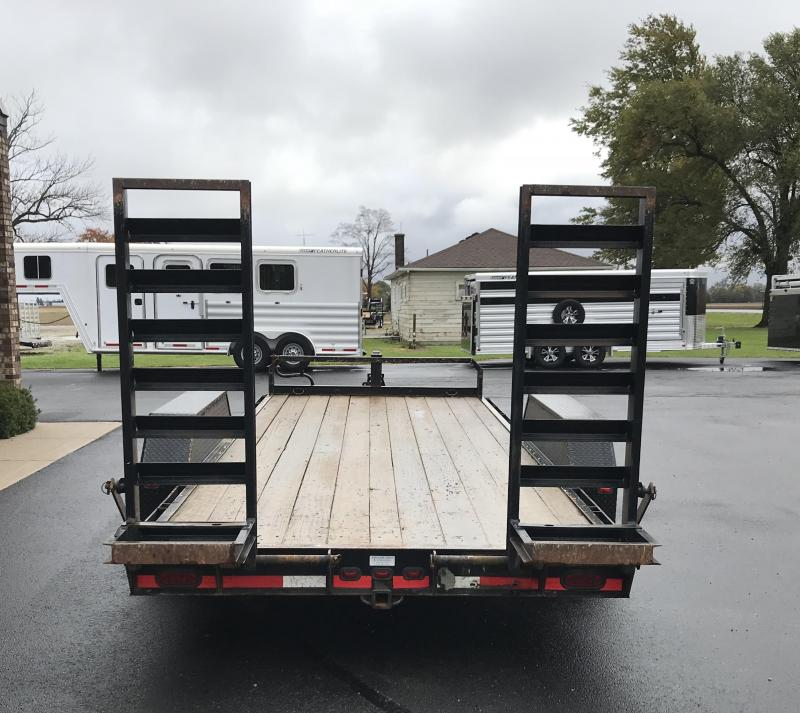 2011 CornPro Trailers 18' UT Flatbed Trailer
