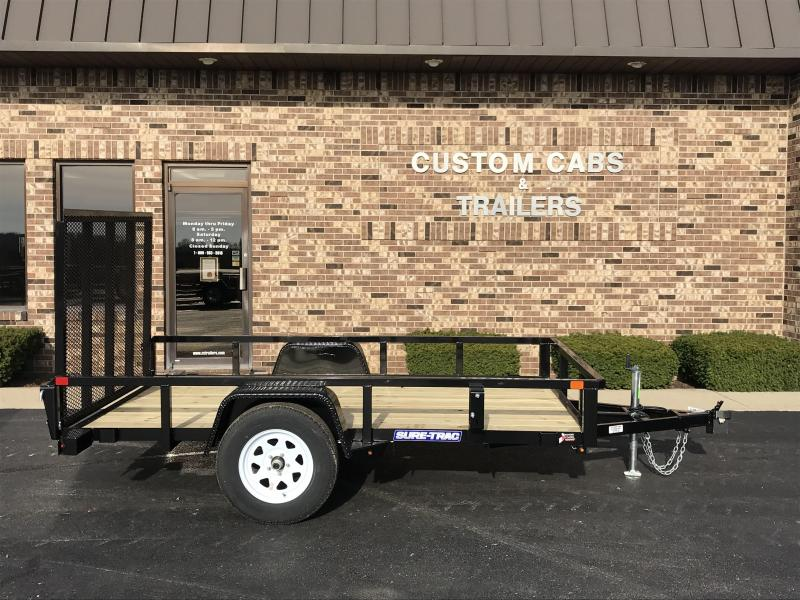 2019 Sure-Trac 6' X 10' Tube Top Flat Bed  3k Idler