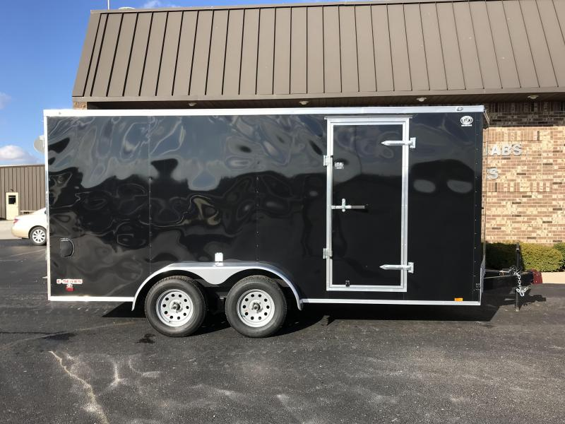 2019 Cargo Mate 7' x 16'  Enclosed Cargo Trailer