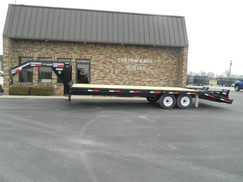 2018 Golden  Trailers 20' +  5'  7K Flatbed Trailer