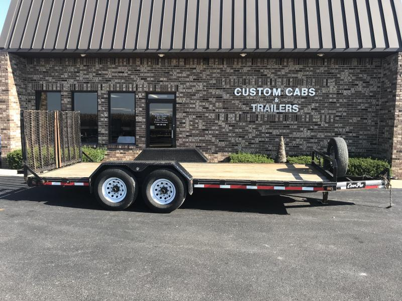 2015 CornPro Trailers 18' UT Flatbed Trailer