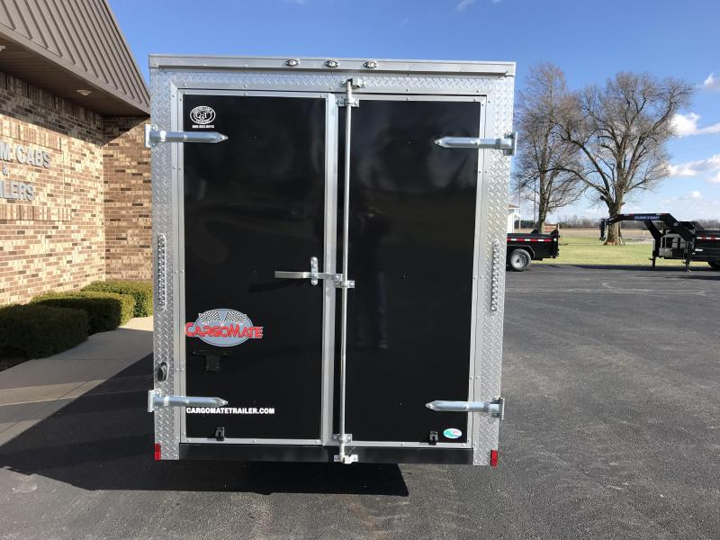 2018 Cargo Mate 7' X 16'  Enclosed Cargo Trailer