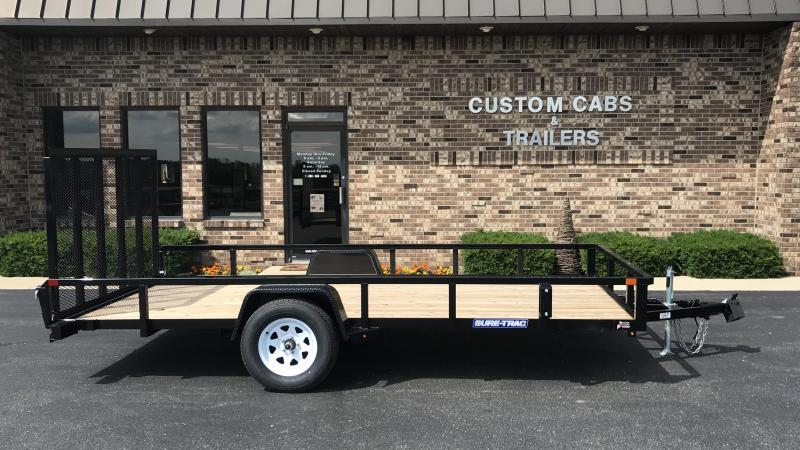 2019 Sure-Trac 7' X 14' Tube Top Flat Bed   3K Idler