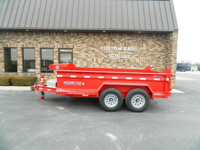 "2019 Moritz International 6'10"" x 12' Dump Trailer"