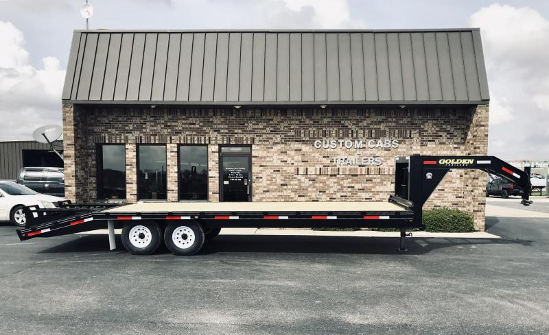 2019 Golden 20' +5' 7K Flatbed Trailer
