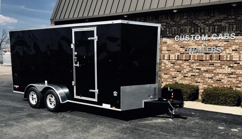 2019 Cargo Mate 7' X 16'  Enclosed Cargo Trailer