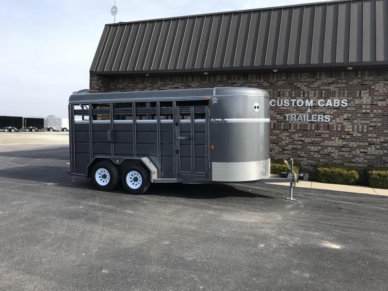 2020 CornPro Trailers SB-16 7S Livestock Trailer