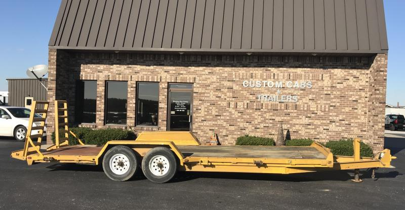 2009 Moritz International 22' UT 7K  Flatbed Trailer