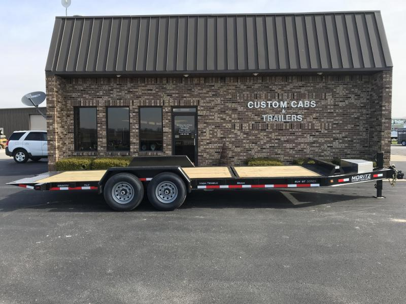 2019 Moritz International 16' + 6' 7K Tilt Flatbed Trailer