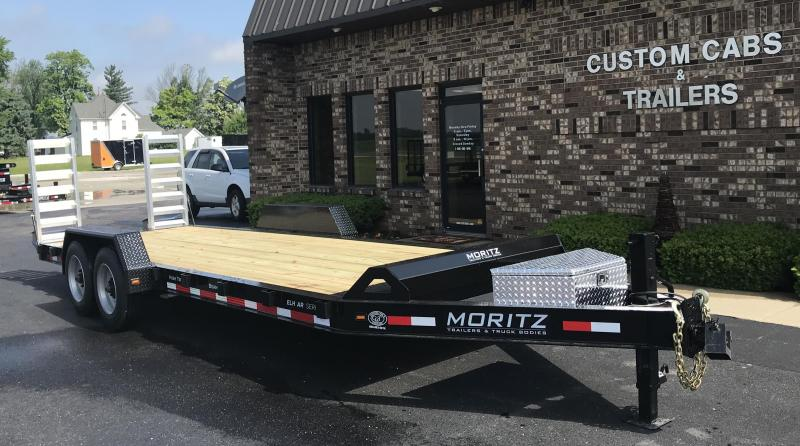 2019 Moritz International  22' UT 8K  AR Flatbed Trailer