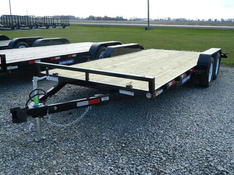 2018 Sure-Trac 18\' Car Trailer | Custom Cabs Truck Beds and Trailers ...