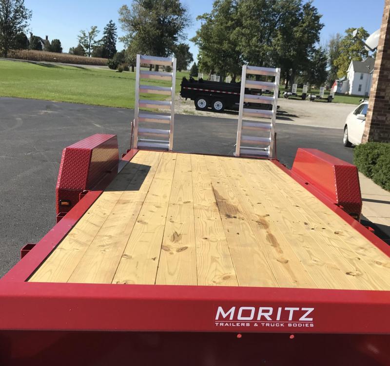 2019 Moritz International 18' UT 7K Flatbed Trailer