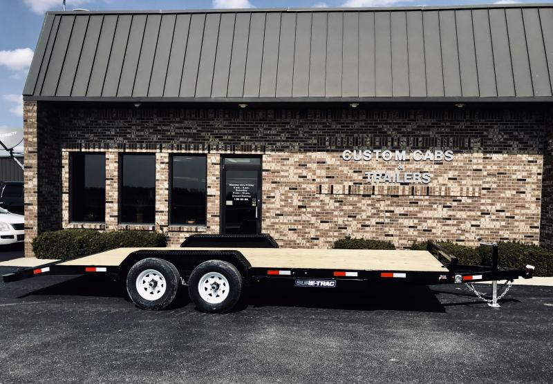 2019 Sure-Trac 7' X 20'  10K  Wood Deck Car Hauler