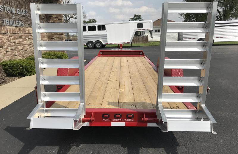 2019 Moritz International ELBH-20 AR Flatbed Trailer