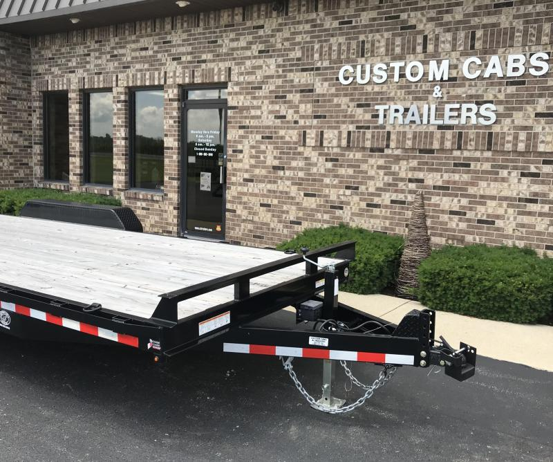 2019 Sure-Trac  International 18' + 2'  Flatbed Trailer
