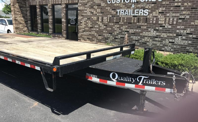 2013 Quality  20' + 6' 10K  Flatbed Trailer