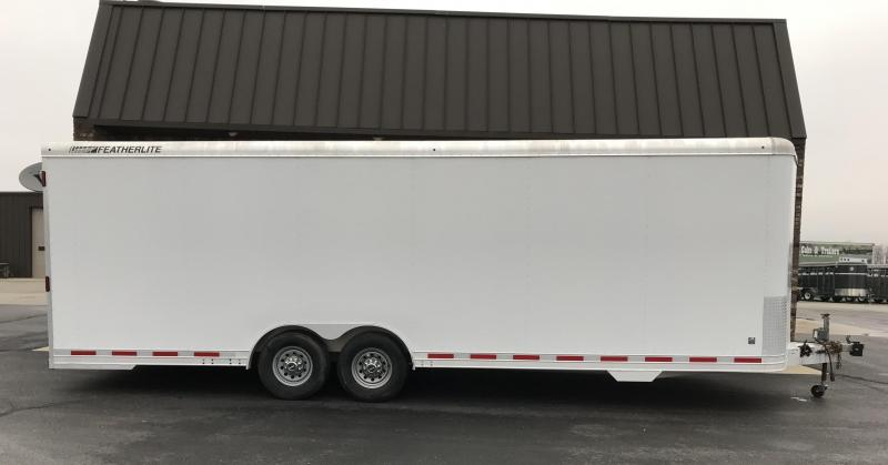 "2013 Featherlite 8'6"" x 26' car trailer"