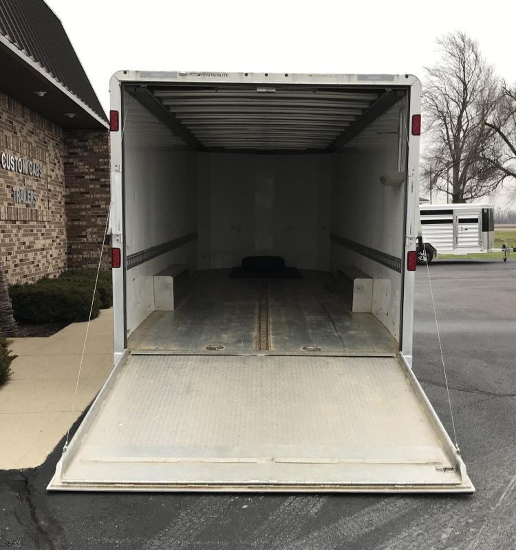 "2013 Featherlite 8'6"" x 26' car trailer"