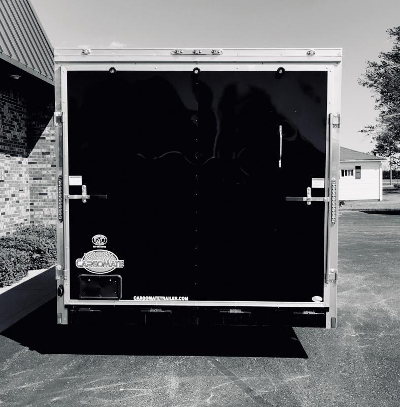 2020 Cargo Mate 8' x 16'  Enclosed Cargo Trailer