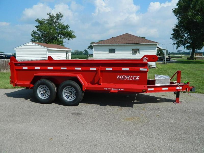 "2019 Moritz International 6'10"" x 14'  Dump Trailer"