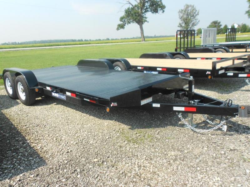 2019 Sure-Trac 7' x 18'  7K  Steel Deck Car Hauler