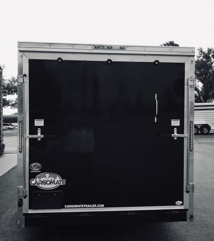 2020 Cargo Mate 7' x 18'  Enclosed Cargo Trailer