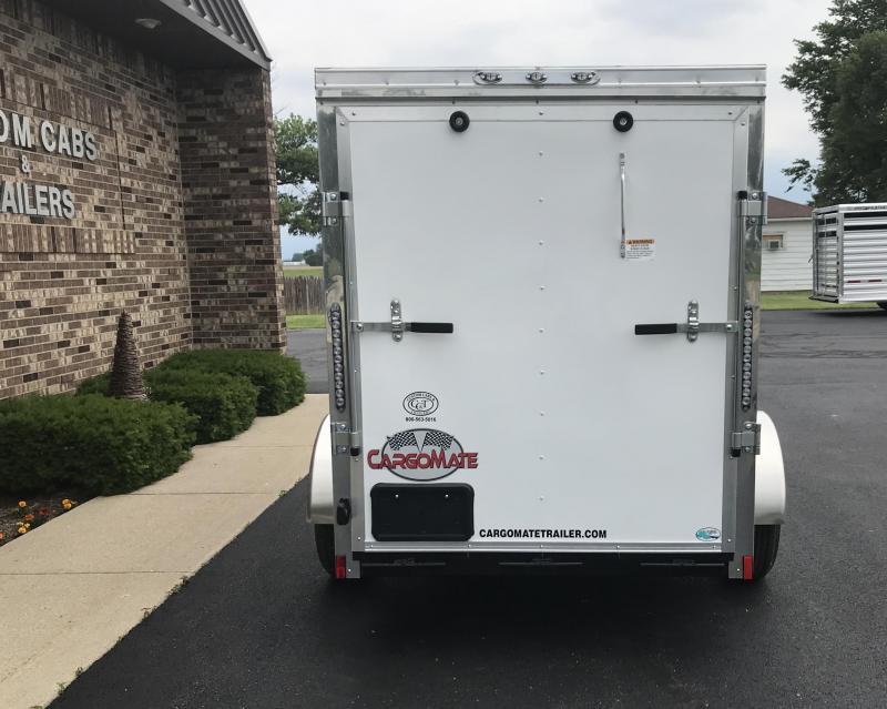 2019 Cargo Mate 5' x 10'  Enclosed Cargo Trailer