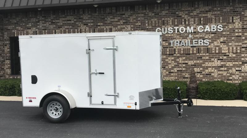 2019 Cargo Mate 5' x 10'  Enclosed Cargo Trailer
