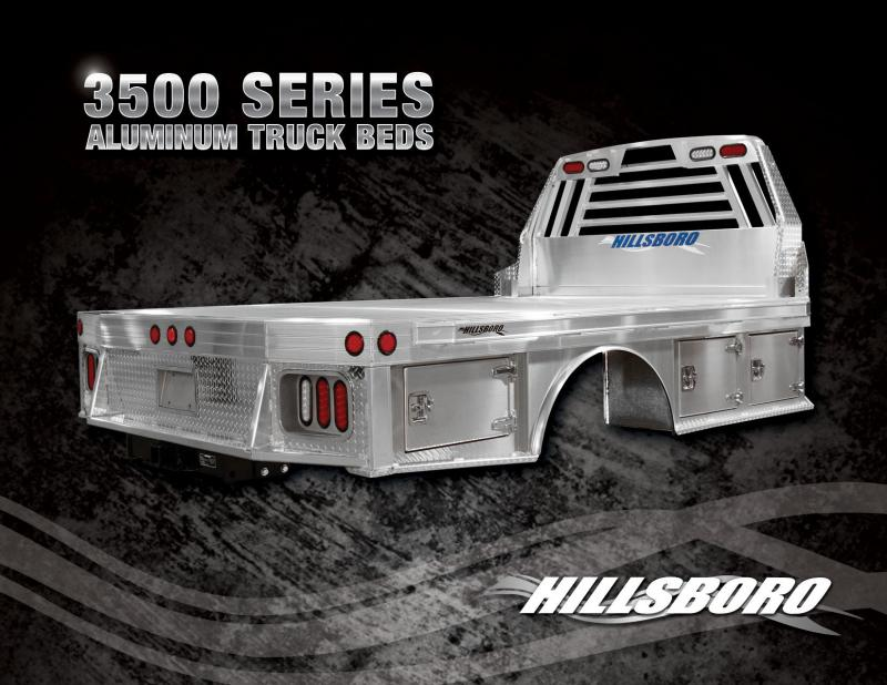 2019 Hillsboro 3500 Truck Bed