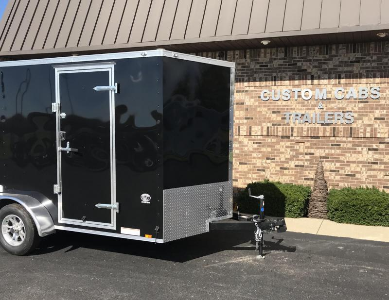 2019 Cargo Mate 7' x 14' Enclosed Cargo Trailer