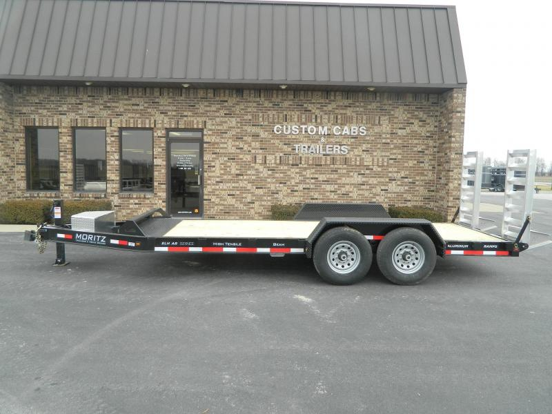 2019 Moritz International 18' AR Flatbed Trailer