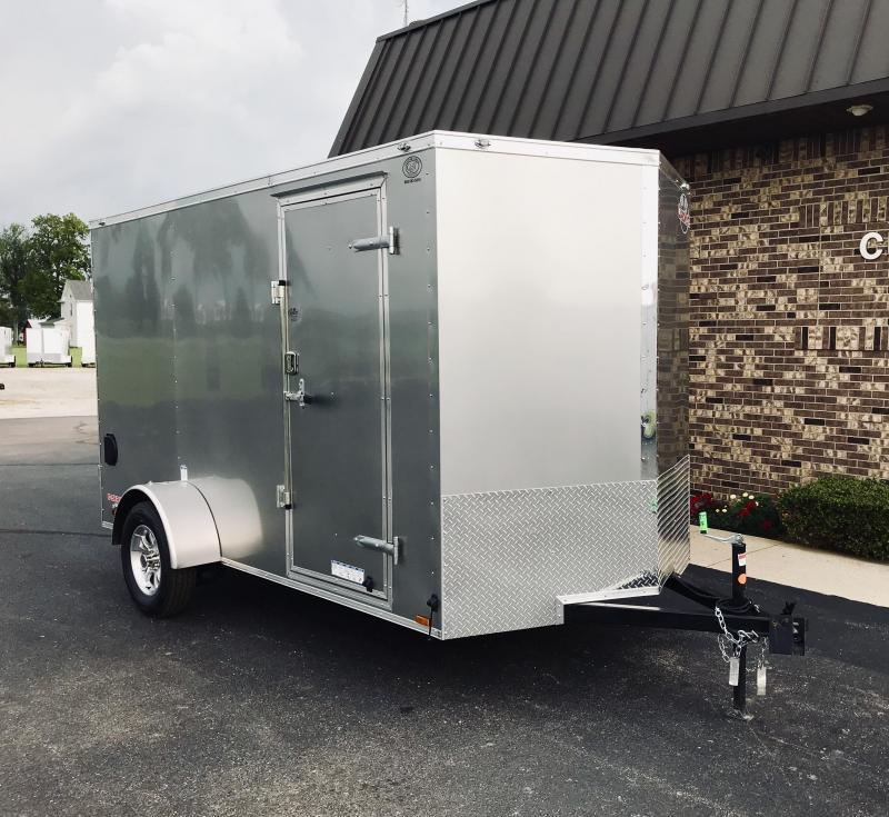 2020 Cargo Mate 6' x 12'  Enclosed Cargo Trailer